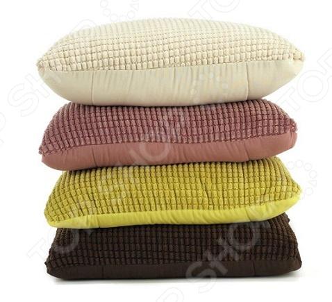 Фото Подушка-одеяло Dormeo Flip 3D. Цвет: зеленый