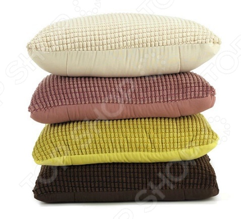 Фото Подушка-одеяло Dormeo Flip 3D. Цвет: бежевый
