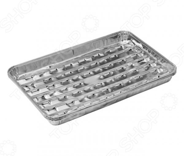 Форма алюминиевая Marmiton одноразовая 11358Металлические формы для выпечки и запекания<br>Форма алюминиевая Marmiton одноразовая 11358 станет отличным дополнением к вашему набору аксессуаров и принадлежностей для кухни. Изделие имеет прямоугольную форму, выполнено из алюминия и предназначено для запекания мяса, овощей, рыбы и т.д. Форму также можно использовать для хранения пищи. В наборе три штуки.<br>