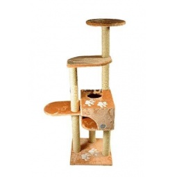 фото Комплекс многоэтажный для кошек ЗООНИК с аппликацией