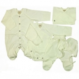 Купить Комплект подарочный для новорожденных Ёмаё. Цвет: желтый