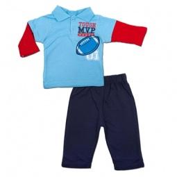 Купить Комплект для мальчика: футболка-поло и штанишки Bon Bebe FAR-001B4