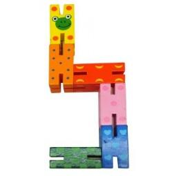 фото Игрушка развивающая Mapacha «Змейка»