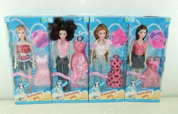 Набор игровой с куклой Swimming Girl 1707296. В ассортименте