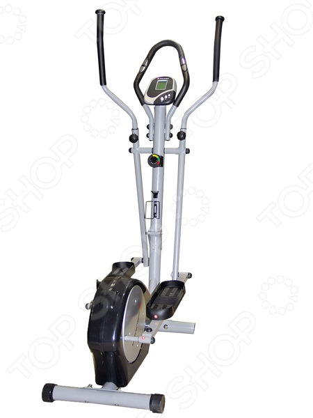 Велоэллипсоид Brumer K860 предназначен для домашнего использования. Упражнения тренируют сердечно-сосудистую и дыхательную системы, мышцы бедра, ягодиц, а также мышцы плечевого пояса. Вы можете не беспокоиться за свои суставы: эллиптическая амплитуда движения педалей тренажера снижает до минимума нагрузку на коленные и голеностопные суставы.  На дисплее компьютера отображаются полезные данные: скорость, время занятий, пройденное расстояние, количество израсходованных калорий, пульс.  Предусмотрен держатель для бутылки с водой.  Регулируемое положение ручек.