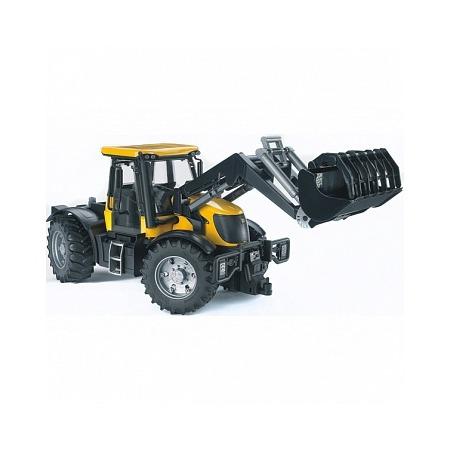 Купить Трактор игрушечный Bruder с погрузчиком JCB Fastrac 3220
