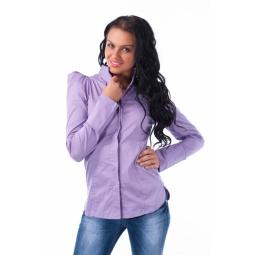 фото Блузка Mondigo 9634. Цвет: сиреневый. Размер одежды: 44