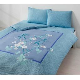 фото Комплект постельного белья TAC Lidia. 1,5-спальный. Цвет: голубой