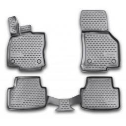 Комплект ковриков в салон автомобиля Novline-Autofamily Honda Jazz 2009. Цвет: черный - фото 10