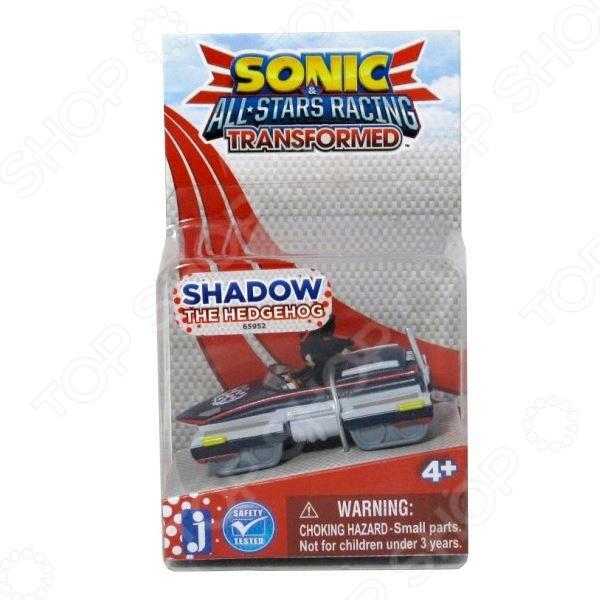 Игрушка-фигурка Sonic Шэдоу в машине