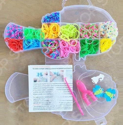 Набор для создания браслетов Shantou Gepai D162 bondibon набор для создания бус и браслетов королева бусинка