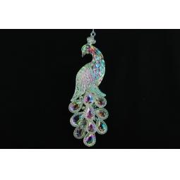 Купить Елочное украшение Crystal Deco «Павлин» 1707752
