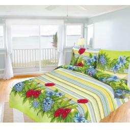 фото Комплект постельного белья Олеся «Царство цветов». 1,5-спальный