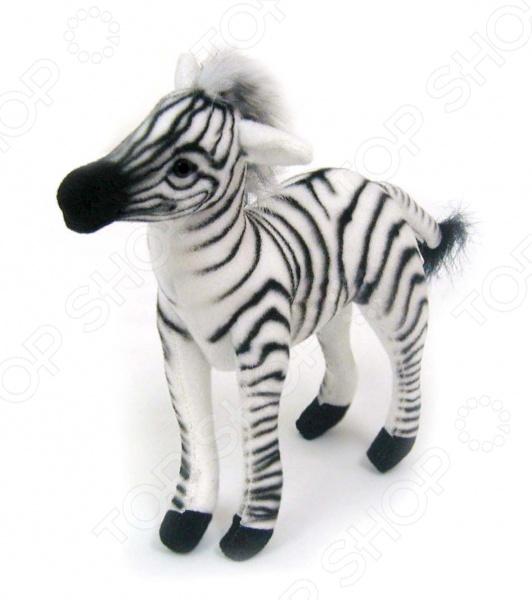 Мягкая игрушка для ребенка Hansa «Зебра» 3743 купить гранулы для производства полиэфирного волокна
