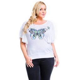 фото Футболка Mondigo XL 8532. Цвет: белый. Размер одежды: 48
