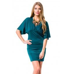 фото Платье Mondigo 8700. Цвет: темно-зеленый. Размер одежды: 46