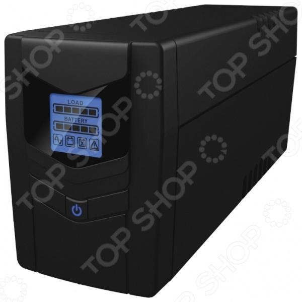 Источник бесперебойного питания Ippon Back Power LCD Pro 800 источник бесперебойного питания ippon back power lcd pro 800 708220