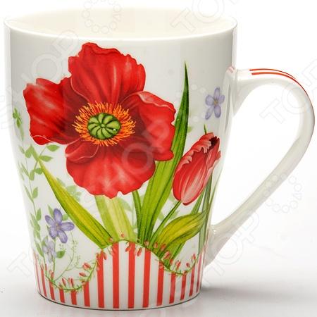 Кружка Loraine LR-24466 «Цветок»