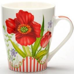Купить Кружка Loraine LR-24466 «Цветок»