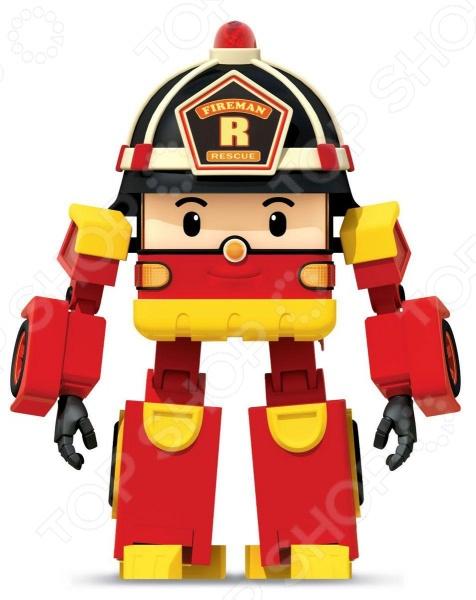 Игрушка-трансформер Poli «Рой»Роботы и трансформеры<br>Игрушка-трансформер Poli Рой предназначен для таких маленьких, но уже таких активных малышей. Представленная модель непременно придется по вкусу всем любителям комиксов, мультфильмов или фильмов о роботах, способных менять свой внешний вид. Фигурка выполнена в оригинальном стиле, у нее множество подвижных частей. Простым движением можно превратить робота в пожарную машину. Игрушка способствует развитию зрительной координации, воображения и мелкой моторики рук малыша. Кроме того, тренируется наблюдательность, образное восприятие и логическое мышление.<br>