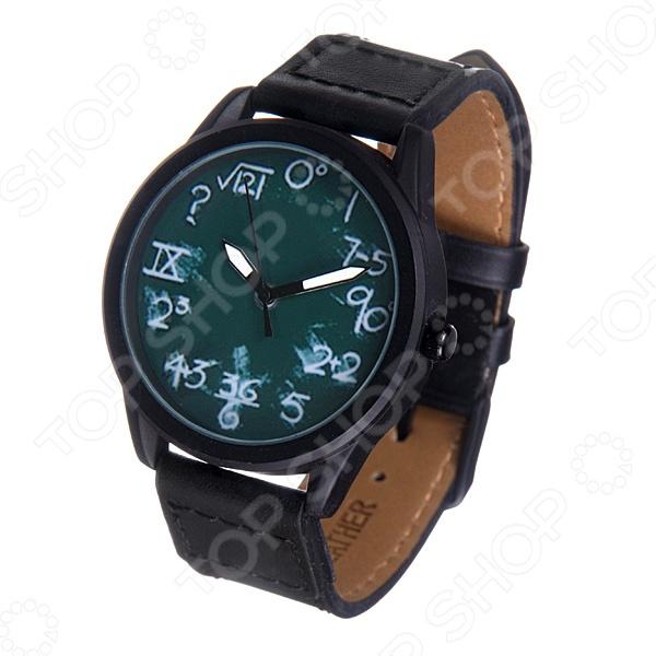 Часы наручные Mitya Veselkov «Школьная доска» MVBlack