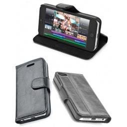 фото Чехол Muvit Agenda Case для iPhone 5. Цвет: черный