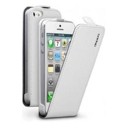 фото Чехол и пленка на экран Muvit Folio Slim Case для iPhone 5. Цвет: белый