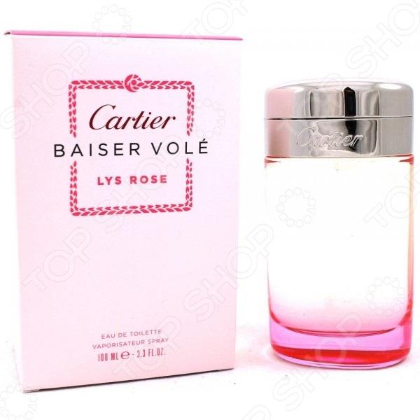 Туалетная вода для женщин Cartier Baiser Vole Lys Rose, 100 мл cartier baiser vole essence de parfum