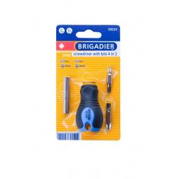 Купить Отвертка со вставками Brigadier Mini «4 в 1»