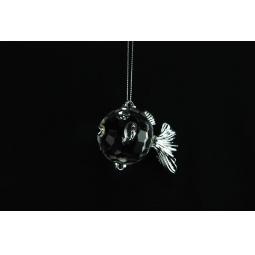 фото Елочное украшение Crystal Deco «Золотая рыбка». Цвет: серебристый