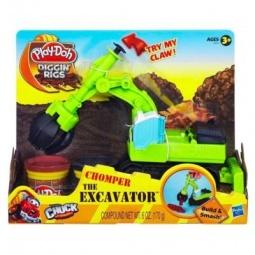 фото Набор пластилина Play-Doh Экскаватор