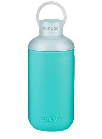 Бутылка для воды Contigo TranquilСпортивные бутылки для воды<br>Бутылка для воды Contigo Tranquil незаменима для тех, кто ведет активный образ жизни. Модель изготовлена из пластика, не содержащего бисфенол - А 0 BPA . Съемное двойное горлышко позволяет добавлять в бутылку кубики льда. С другой стороны, такая конструкция позволит с легкостью мыть изделие даже в посудомоечной машине. Крышка-колпачок оснащена ручкой, за которую бутылку удобно держать рукой.<br>