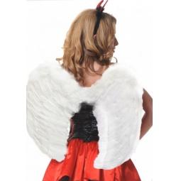 фото Крылья карнавальные Accessories «Ангельские». Цвет: белый