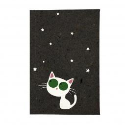 фото Обложка для паспорта Mitya Veselkov «Кошка и звезды»