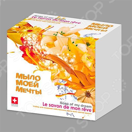 Набор для мыловарения Intellectico «Мыло моей мечты» малый Набор для мыловарения Intellectico «Мыло моей мечты» малый /Оранжевый