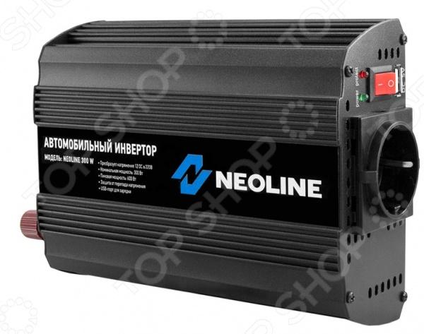 Инвертор автомобильный Neoline 300W. В ассортименте Neoline - артикул: 745825