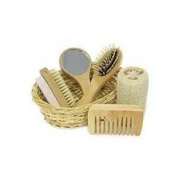 Купить Набор банных принадлежностей Банные штучки в корзинке