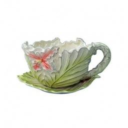 фото Кашпо декоративное Valenсia «Цветок лилейника». Диаметр: 30 см