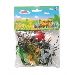 Купить Набор насекомых игрушечных 1toy Т50523