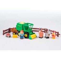 фото Набор игровой для мальчика Tomy John Deere «Уборка урожая»