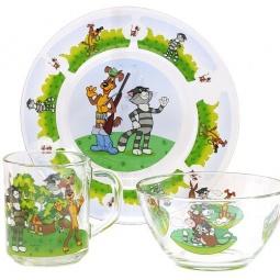 Купить Набор посуды детский Союзмультфильм «Простоквашино»