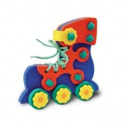 фото Игра развивающая для малыша Флексика «Шнуровка. Ролик»