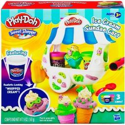 фото Набор пластилина Play-Doh Тележка с мороженным (Ice Cream Sundae Cart)