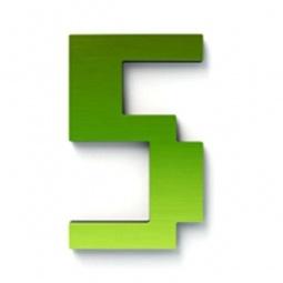 фото Дверной номерок Студия Артемия Лебедева «Дигитус» 5. Цвет: зеленый