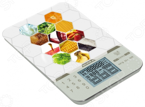 фото Весы кухонные Supra BSS-4081, Кухонные весы