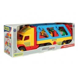 Купить Машинка игрушечная Wader с авто-купе Super Truck