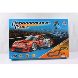 фото Набор игровой для мальчика PlaySmart «Автотрек. Параллельные гонки»