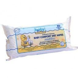 Купить Салфетки влажные для чувствительной кожи BABYLINE Sensitive