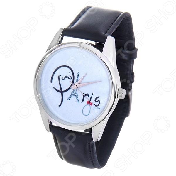 Часы наручные Mitya Veselkov Paris буквамиЖенские наручные часы<br>Не секрет, что правильно подобранные аксессуары вершат весь образ, добавляют ему законченности и помогают грамотно расставить цветовые акценты. Наручные часы же являются не просто стильным украшением, но и весьма функциональным аксессуаром. Именно поэтому, наряду с оригинальным дизайном и влиянием модных тенденций, при их выборе важно учитывать вид часового механизма и качество используемых материалов. Часы наручные Mitya Veselkov Paris буквами станут отличным дополнением к набору ваших аксессуаров. Модель отличается стильным дизайном и прекрасным качеством исполнения, хорошо сочетается с яркими креативными нарядами и оригинальными украшениями. Корпус часов выполнен из минерального стекла и сплава металлов. Ремешок изготовлен из натуральной кожи, застежка классическая. Механизм часов кварцевый Citizen Япония .<br>