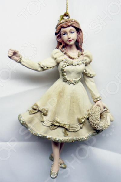 Елочное украшение-подвеска Crystal Deco «Девочка»
